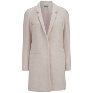 ONLY Women's Maddie Spring Coat - Pink