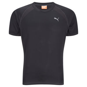 Puma Men's Drycell Running T-Shirt - Black/Grey
