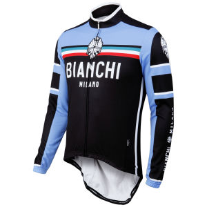 Bianchi Men's Bivona Performance Long Sleeve Jersey - Black