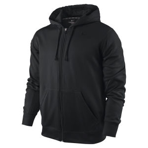 Nike Men's KO Full Zip Hoody 2.0 - Black