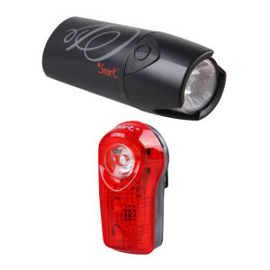 Smart Lunar 25 Front with 1/2 Watt Rear Lightset - Black