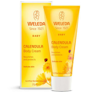Weleda Baby Calendula Moisturizing Body Cream (75ml)
