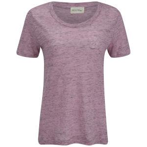 American Vintage Women's Quincy T-Shirt - Doll Melange Ecru