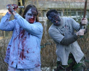 Zombie Battle for Two - Abandoned Manor House Special offer