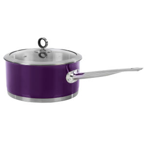 Morphy Richards Accents 20cm Saucepan - Plum