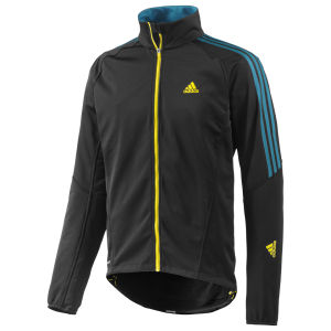 adidas Response Windbreaker Jacket - Black/Teal