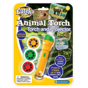 Eureka Toys Animal Torch and Projector