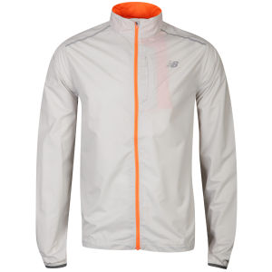 New Balance Men's Nbx Minimus Jacket - Grey/Orange