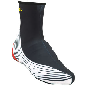 Northwave Bullet Graphic Shoe Cover - Black/Red