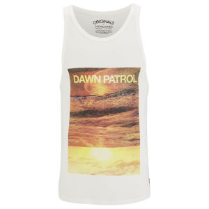 Jack & Jones Originals Men's Patrol Tank Top - Cloud Dancer