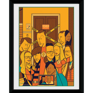The Big Bang Theory Group - 8x6 Framed Photographic
