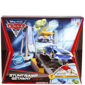 Cars 2 - Track Set Stunt Ramp Getaway