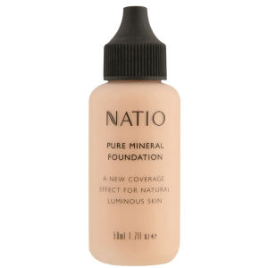 Base Mineral Pure de Natio - Light Medium (50 ml)