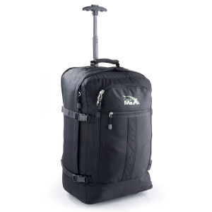Cabin Max Convertible Trolley Backpack - Black