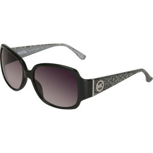MICHAEL MICHAEL KORS Mauritius Oversized Square Sunglasses - Black