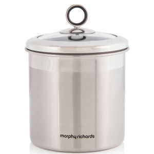 Morphy Richards Accents Large Storage Canister - Stainless Steel