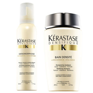 Kérastase Densifique Bain Densite (250 ml) och Mousse Densimorphose (150 ml)