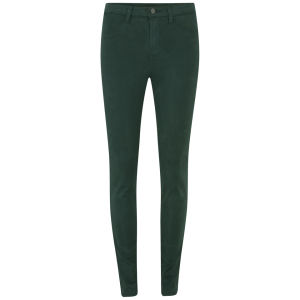 J Brand Women's Maria High Rise Luxe Sateen Jeans - Forest