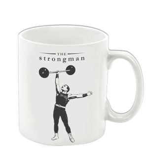 Victoriana The Strongman Porcelain Mug