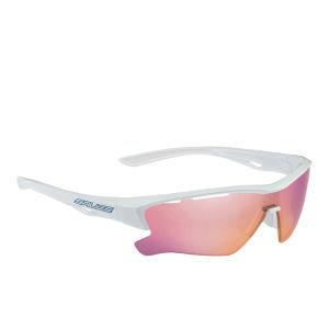 Salice 011 RW Radium Sports Sunglasses - Mirror - White-Blue/RW Radium