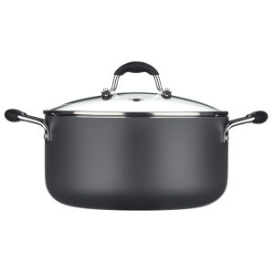 Sorted Aluminium 26cm Casserole Pot with Glass Lid