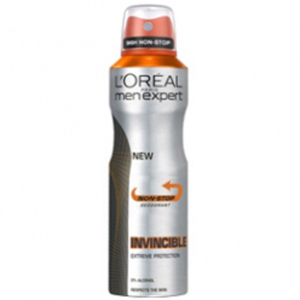 L'Oreal Paris Men Expert Invincible 96 Hours Deodorant Spray (250ml)