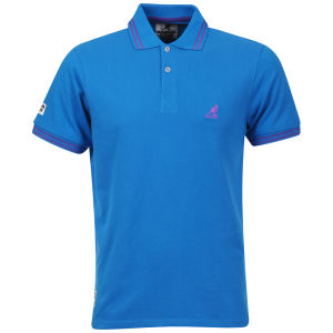 Kangol Men's Joshua Tipped Polo Shirt - Electric Blue