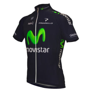 Movistar Team Full Zipp SS Jersey - 2013