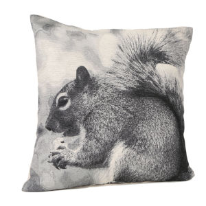 Malini Squirrel Jaquard Cushion