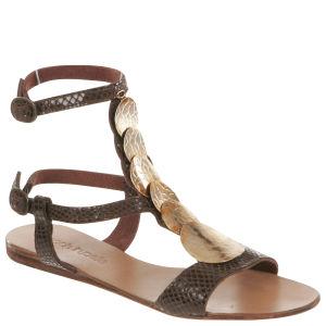 Moda In Pelle Women's Nantucket Shoes - Brown