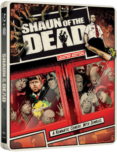 Shaun of The Dead - Importación - Steelbook de Edición Limitada (Region Free)