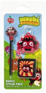 Moshi Monsters Stylus Pack - Diavlo (3DS, DSiXL, DSi, DS Lite)