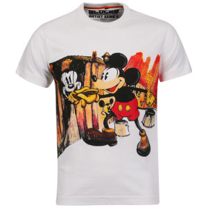 Addict Men's Mear One Mickey T-Shirt - White