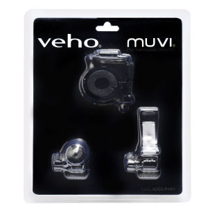 Veho Professional Handlebar Mount for Muvi Camcorder (VCC-A003-PHM)