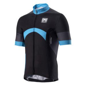 Santini Dragon Short Sleeve Jersey - Turquoise