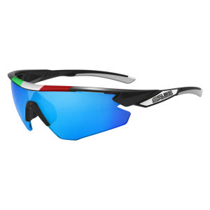Salice 012 ITA/RW Sport Sunglasses - Black/Blue
