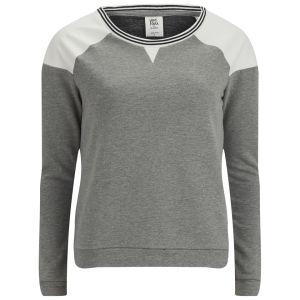Vero Moda Women's Lea Raglan Sweatshirt - Grey