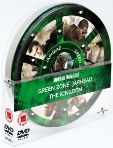 Modern Warfare Tin (Green Zone / Jarhead / The Kingdom)
