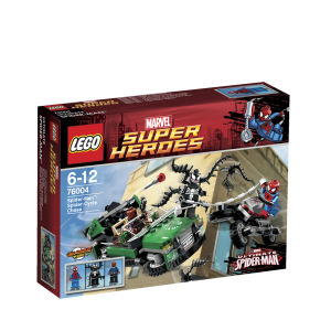 LEGO Super Heroes: Spider-Man: Spider-Cycle Chase (76004)