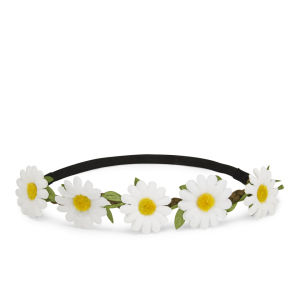 Impulse Women's Large Daisy Headband - Brown
