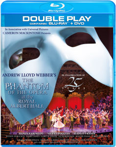 The Phantom Of The Opera at The Royal Albert Hall - Double Play (Blu-Ray en DVD)