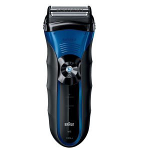 BRAUN WET AND DRY SHAVER SERIES 3-340