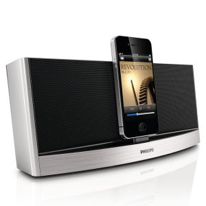 Philips AD620/05 Bluetooth Docking Station - Silver
