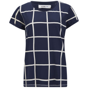 Vero Moda Women's Ewe Top - Navy
