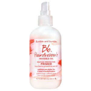 Base Protetora de calor/UV, Hairdresser's Invisible Oil, da Bumble and bumble 250ml