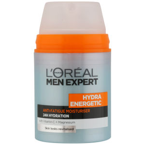 Loreal Paris Men Expert Hydra Energetic Daily Anti-Fatigue Moisturising Lotion (50ml)