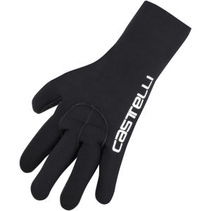 Castelli Diluvio Gloves - Black/Castelli Text