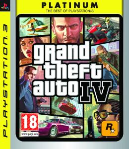 Grand Theft Auto IV (4) Platinum
