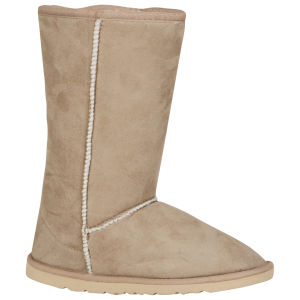 Odeon Women's Ugg Style Boots - Beige