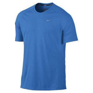 Nike Men's Miler Short Sleeve T-Shirt - Blue